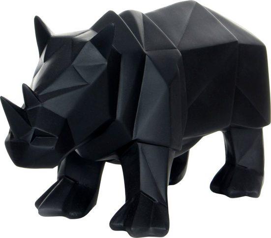 Kayoom Dekofigur »Rhino«, Schwarz