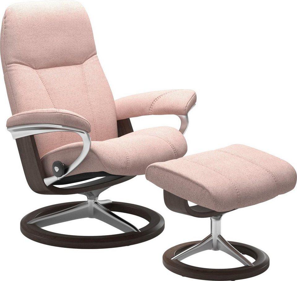 a51bb49f4e9c74 Stressless® Set  Relaxsessel mit Hocker »Consul« mit Signature Base ...