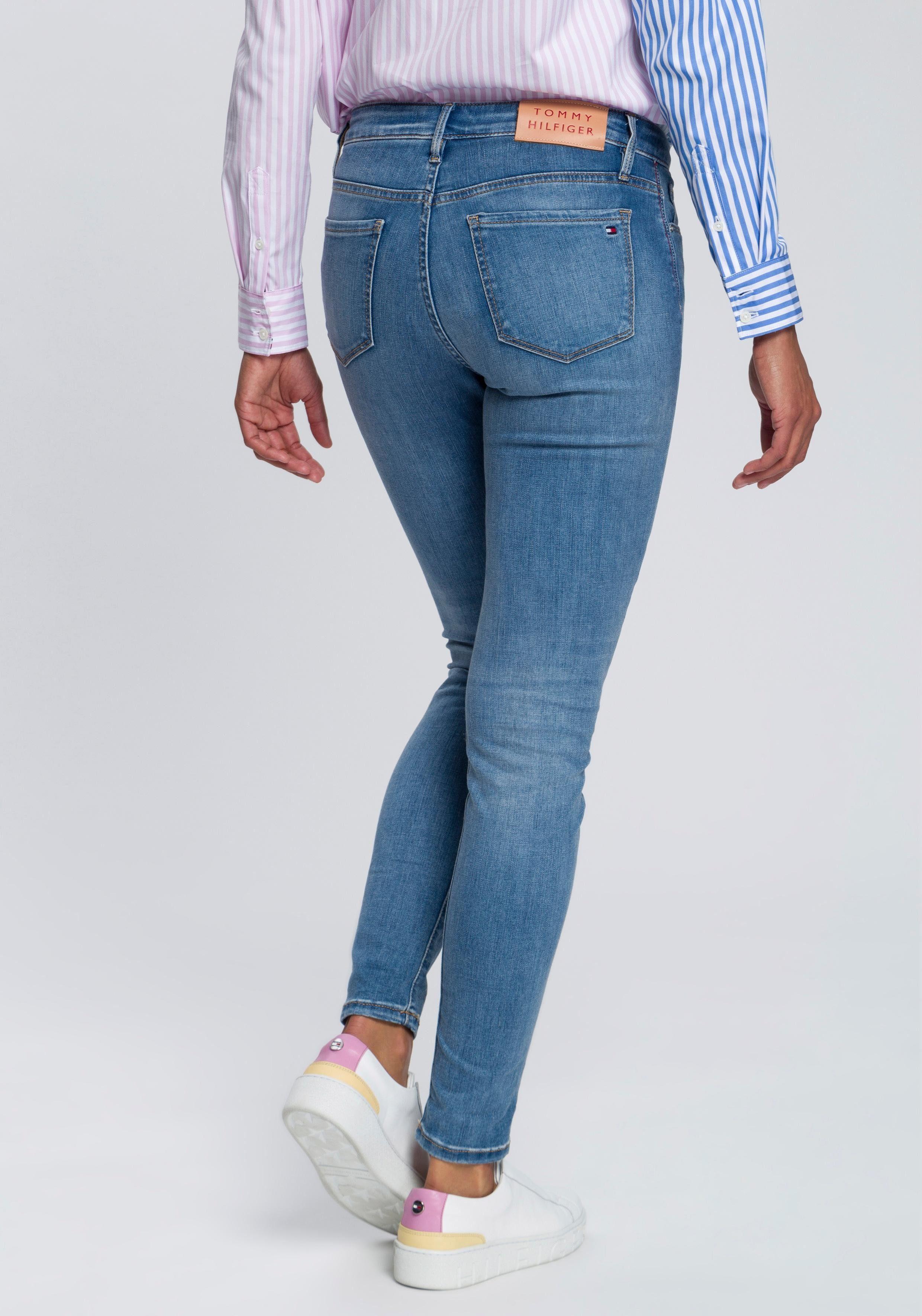TOMMY HILFIGER 5-Pocket-Jeans »Como« mit gekrempeltem Hosensaum