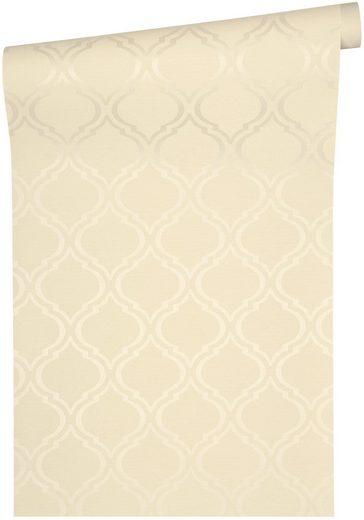 Mustertapete »Di Seta«, leicht glänzend, Klassik Muster