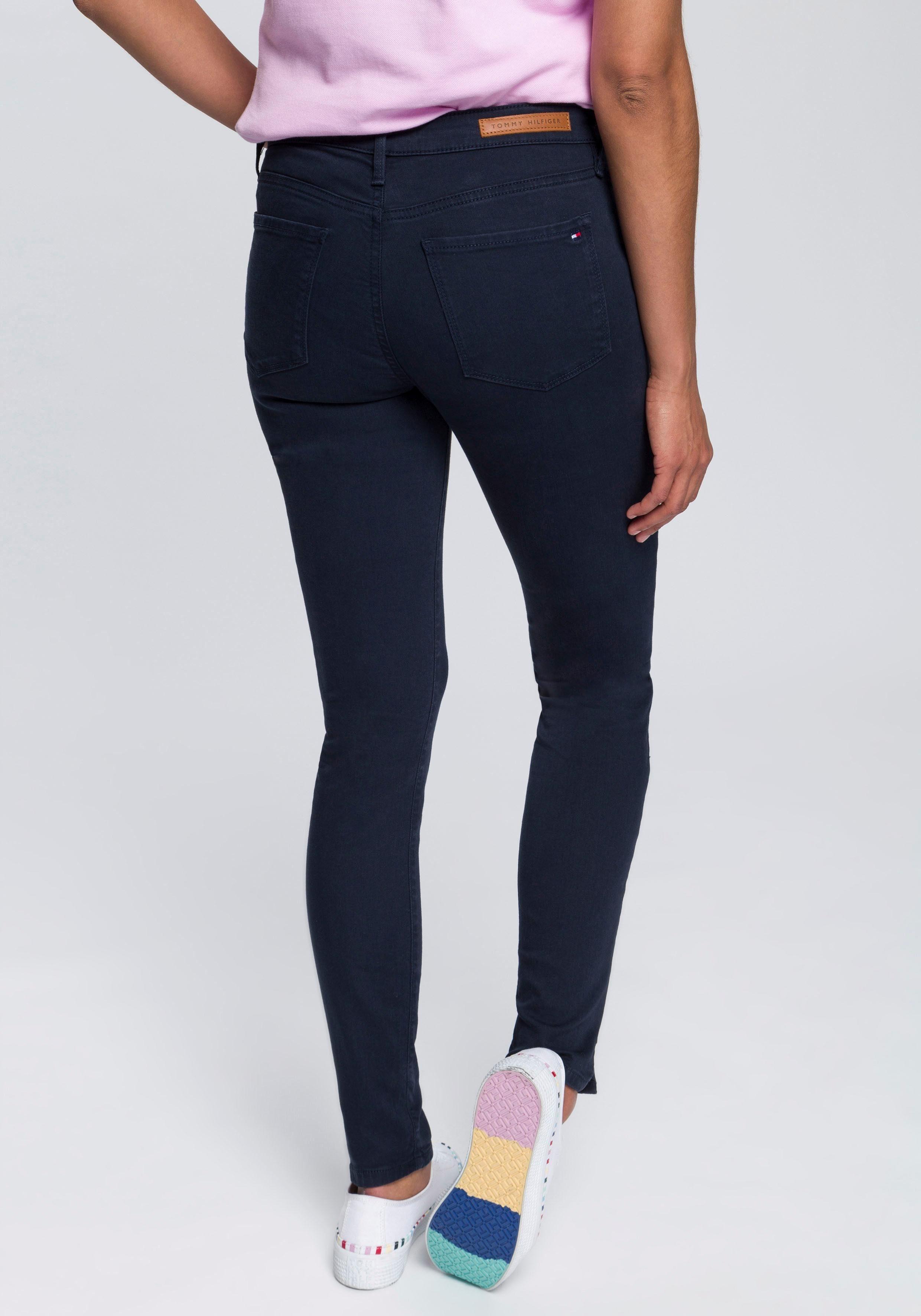 TOMMY HILFIGER Skinny-fit-Jeans »Como« mit kurzen Saumschlitzen