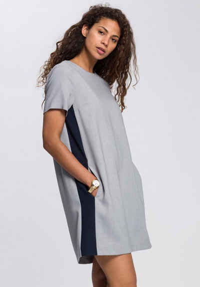 7ab4b4de3a2 TOMMY HILFIGER Blusenkleid »Anita« mit trendy Galonstreifen an der Seite