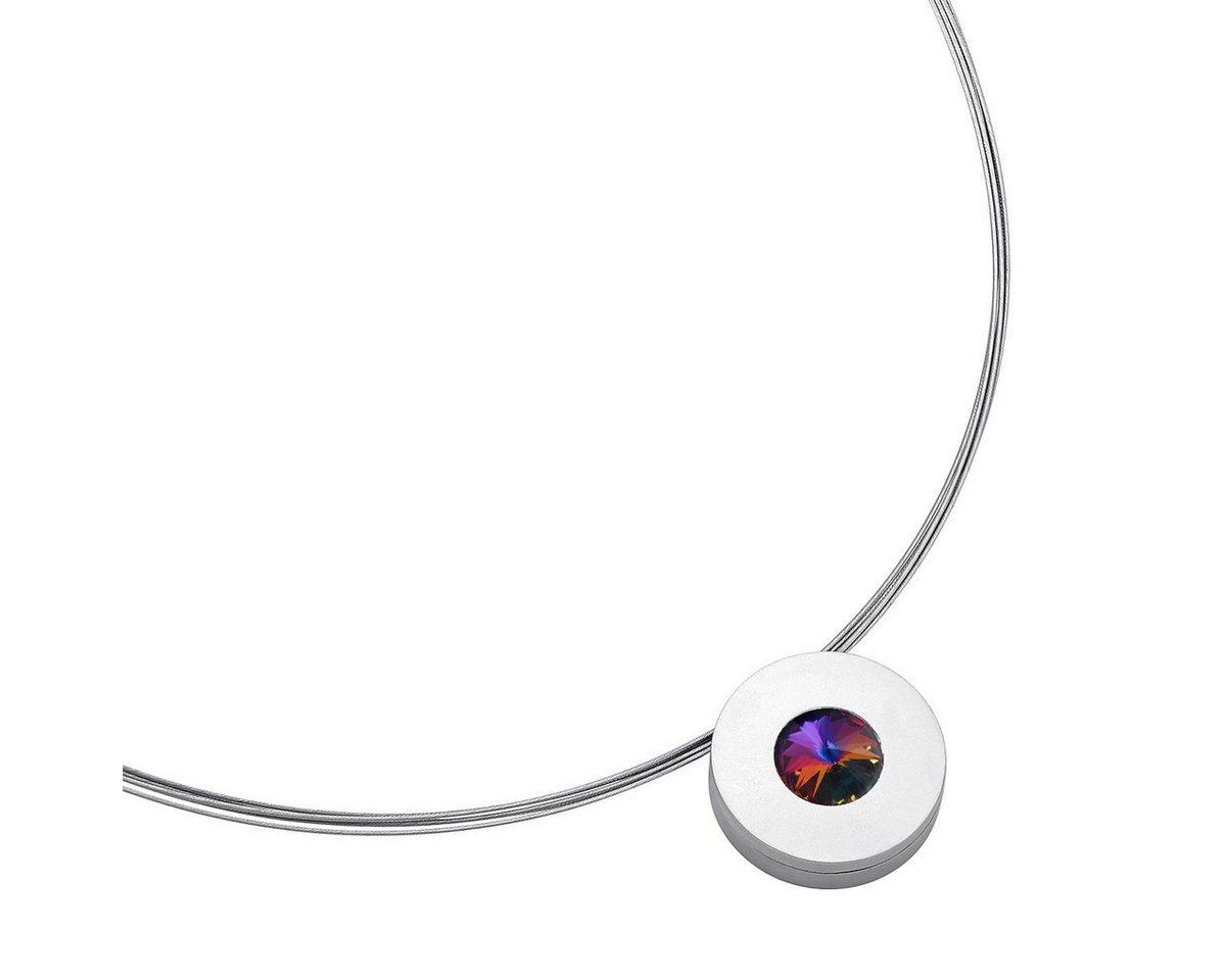 Heideman Kettenanhänger »Lumen« mit Austauschbaren Swarovski-Kristall | Schmuck > Halsketten | Bunt | Stein | Heideman