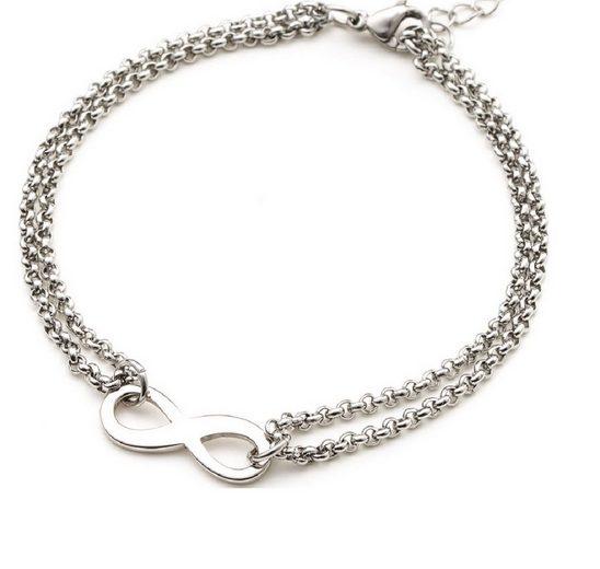 Heideman Armband »Infinity«, mit verstellbaren Verschluss