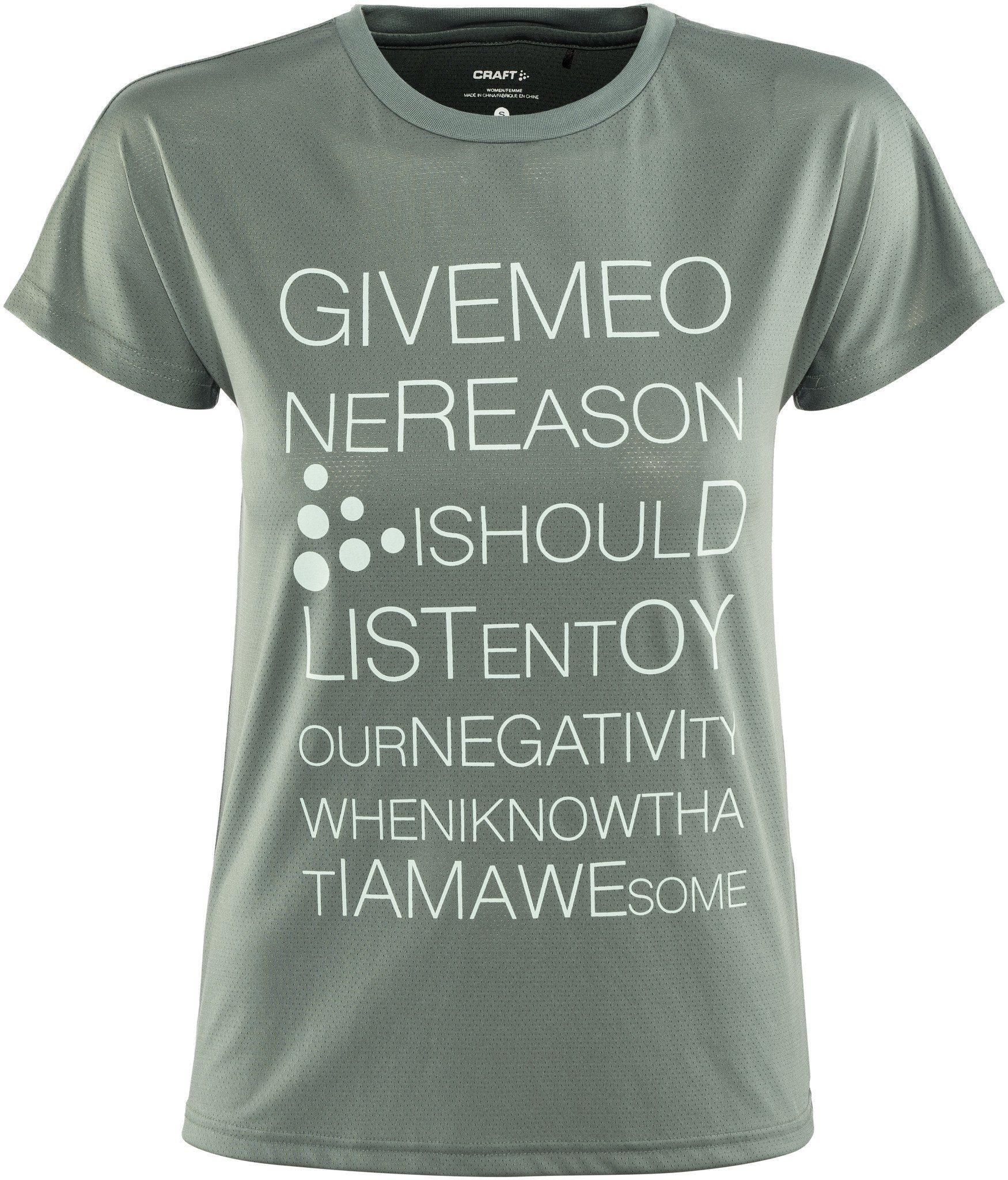 Kaufen T Tee Mesh Women« shirt Ss Craft »eaze Logo D2H9WEI