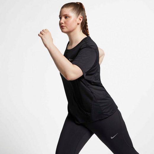 Nike Laufshirt »WOMENS SHORT-SLEEVE TOP PLUS SIZE«