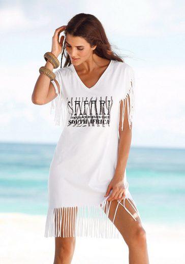 Beachtime Longshirt mit Fransen