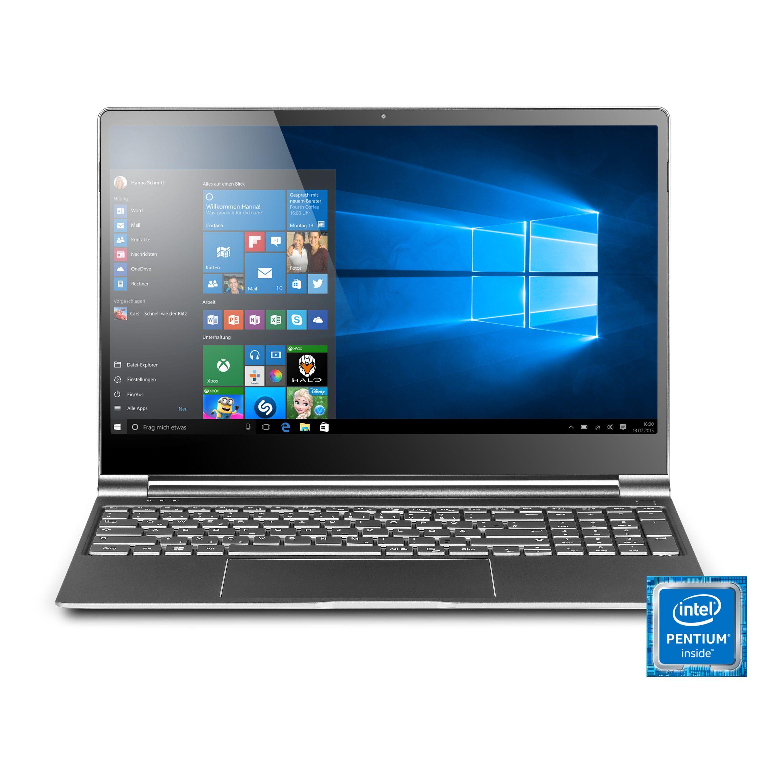 CSL Notebook im UltraSlim Design, 8GB RAM, Metallgehäuse »R'Evolve C15 / Windows 10«