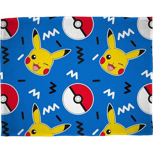 Character World Kuscheldecke Pokémon, 100 x 150 cm