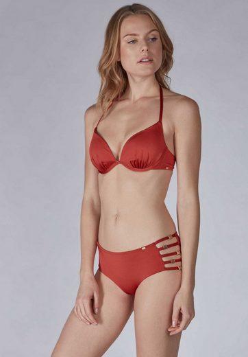 Skiny Triangel-Bikinioberteil in glänzendem Design »Shiny Desert«