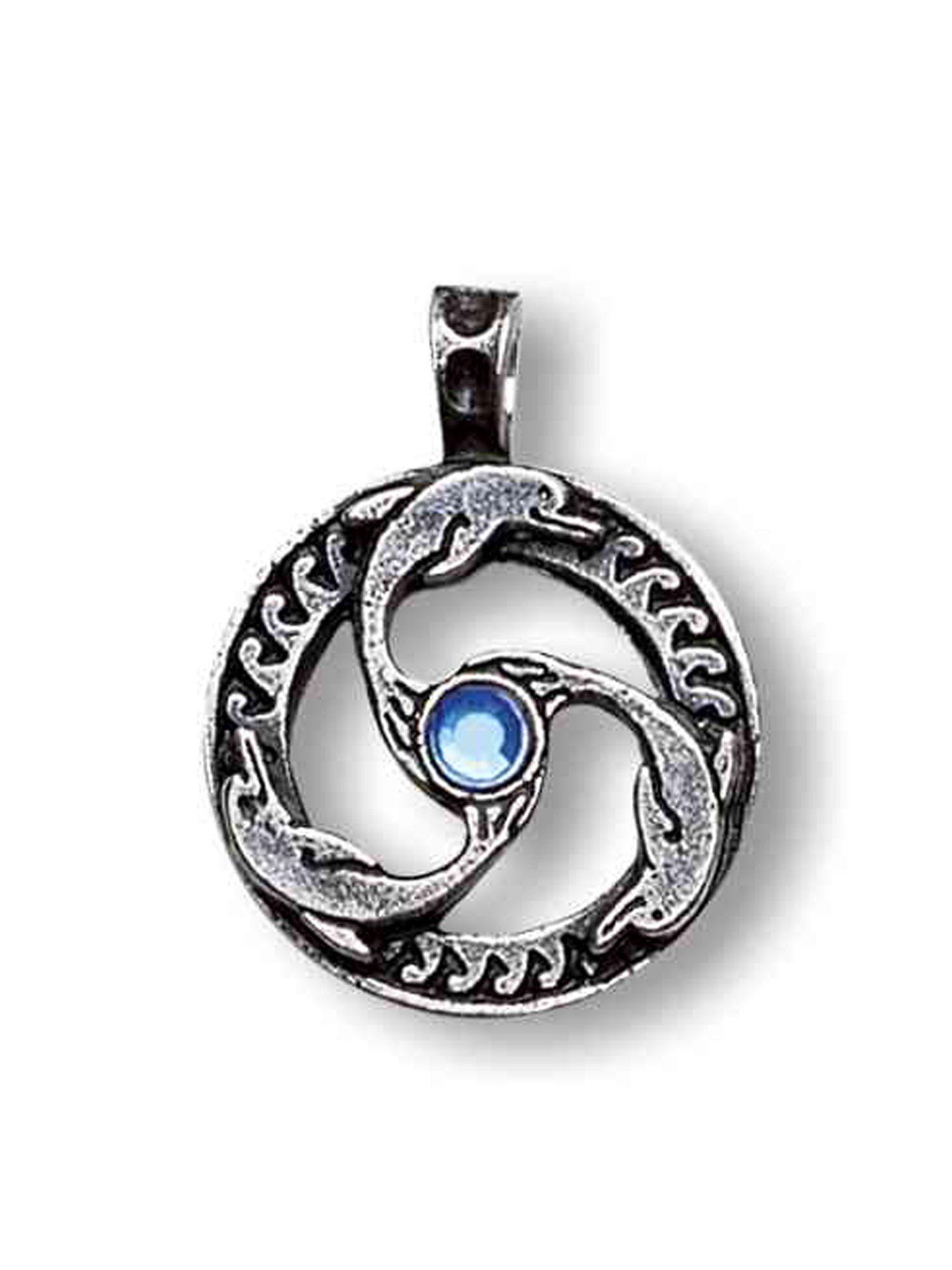 Adelia´s Amulett »Nordische Lichter Talisman« Delphin Triskilian - Führung und innerer Frieden