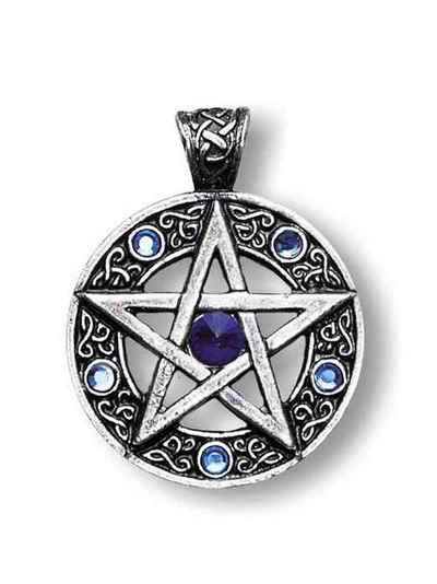 Adelia´s Amulett »Nordische Lichter Talisman«, Keltisches Pentagramm - Willensstärke und Erfolg