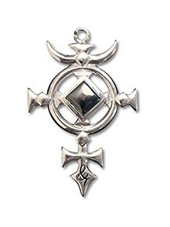 Adelia´s Amulett »Briar Edelsteine Talisman« Kreuz des St. Michael mit Hämatit - Für Schutz   Schmuck > Halsketten > Amulette   Adelia´s