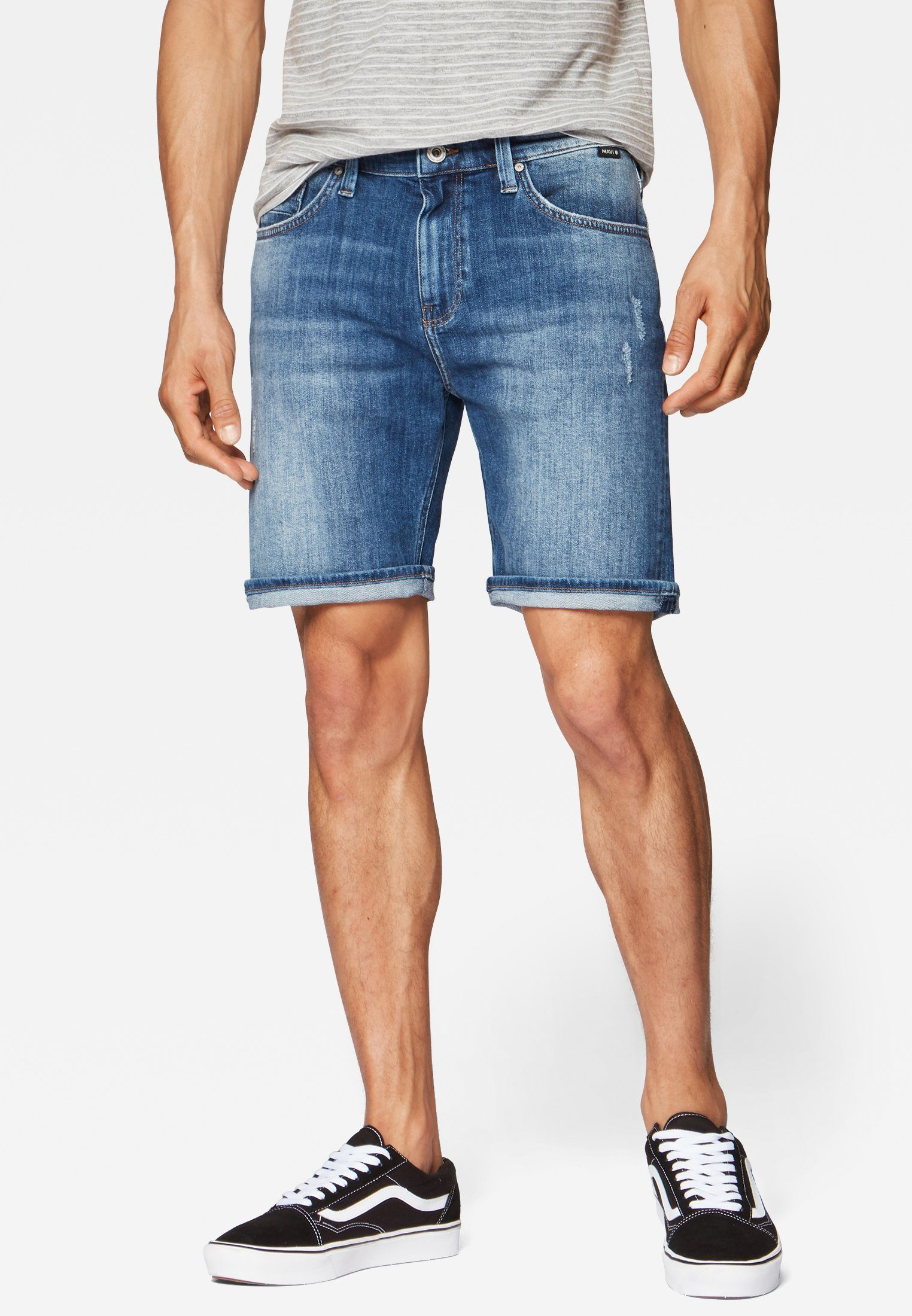 Mavi Slim-fit-Jeans »BRIAN« Jeansshorts