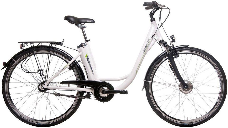 HAWK E-Bike City »Deep-Z White«, 28 Zoll, 7 Gang