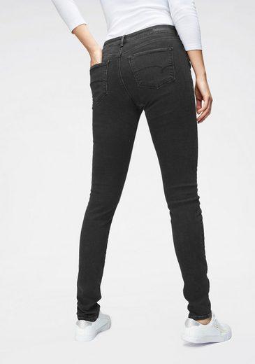 Mavi Skinny-fit-Jeans mit leichten Waschungsdetails