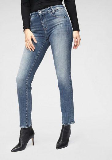 Mavi Straight-Jeans »DARIA« mit leichten Used-Effekten