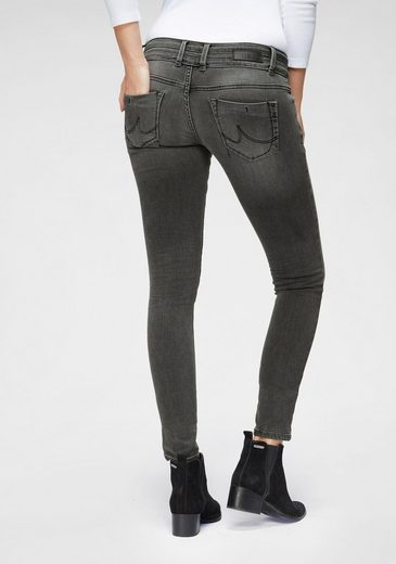 LTB Skinny-fit-Jeans »JULITA X« mit Doppelknopfbund & Backpocket-Stickerei