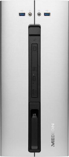 Medion® MEDION® AKOYA® P66070 Gaming-PC (Intel® Core i5, GTX 1050, 8 GB RAM, 1000 GB HDD, 128 GB SSD)