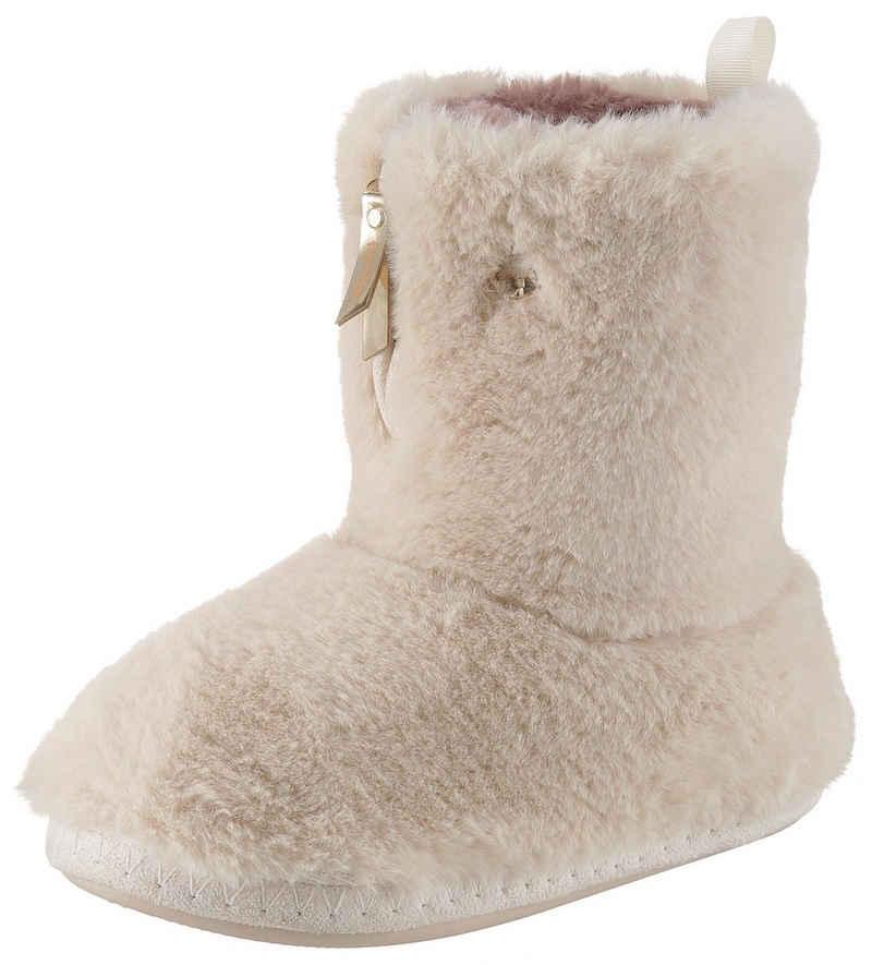 Flip Flop »Yeti« Hüttenschuhe mit Front-Reißverschluss