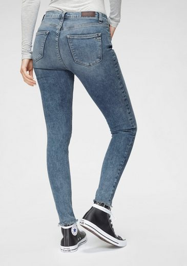 LTB Skinny-fit-Jeans »AMY« High Waisted mit Used-Saum