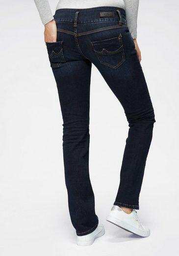LTB Straight-Jeans »JONQUIL« mit auffälligen Steppnähten & Reißverschlusstasche