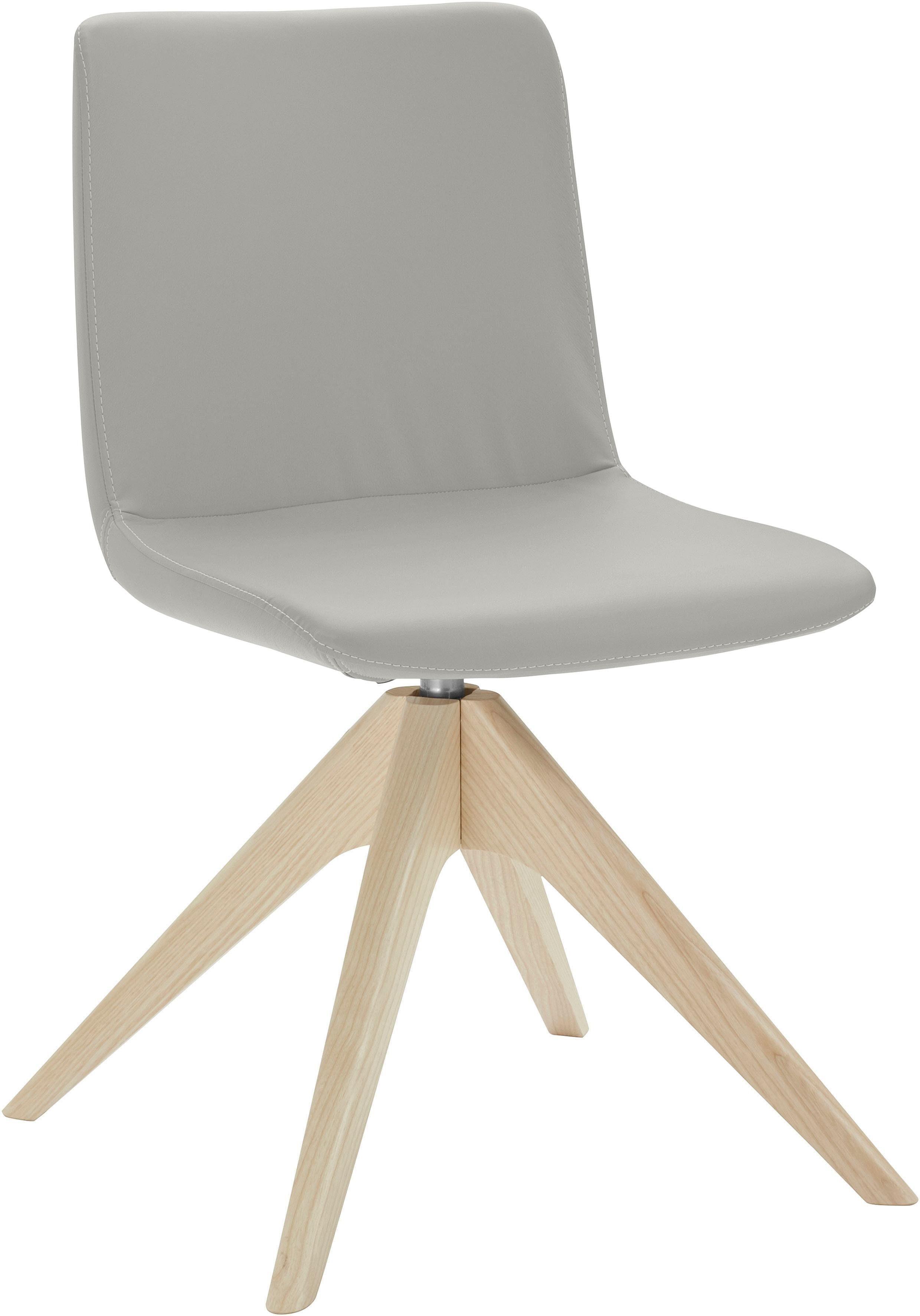 andas Stuhl »Helen« mit Beinen aus massiver Esche und Drehfunktion online kaufen | OTTO