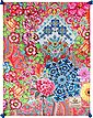Plaid »Zaira«, Happiness, mit Mandalas und Blüten, Bild 3