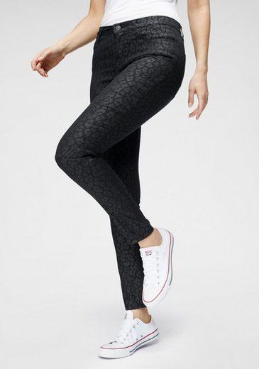 LTB Skinny-fit-Jeans »AMY« mit angesagtem Leo-Print