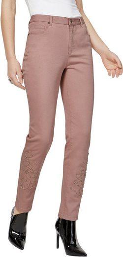 création L Jeans mit Zierperlen