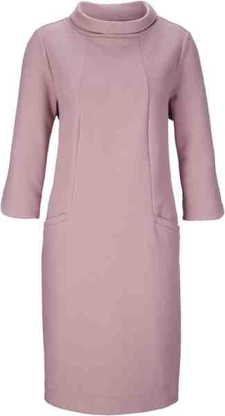 création L Kleid mit Umlegekragen