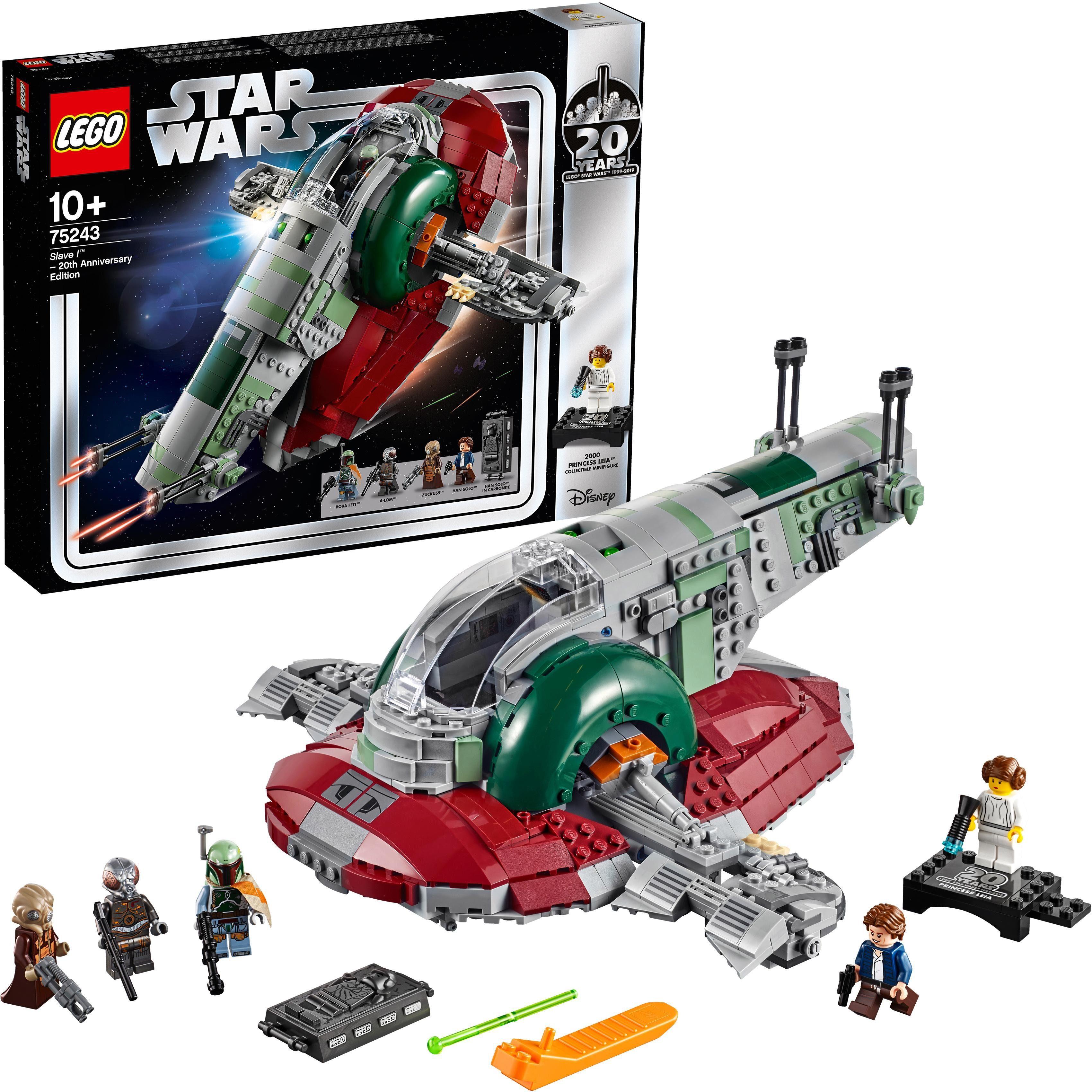 LEGO® Konstruktionsspielsteine »Slave I™ – 20 Jahre LEGO Star Wars (75243) LEGO® Star Wars™«, (1007 tlg)