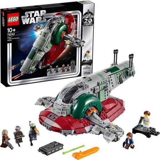 LEGO® Konstruktionsspielsteine »Slave I™ – 20 Jahre LEGO Star Wars (75243) LEGO® Star Wars™«, Kunststoff, (1007 St)