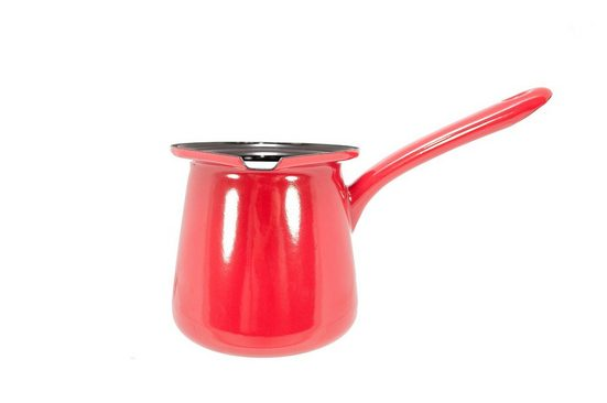 Riess Kochtopf »Kaffeekocher Classic Color«, Premium-Emaille, (1-tlg), Empfohlen bei Nickelallergie