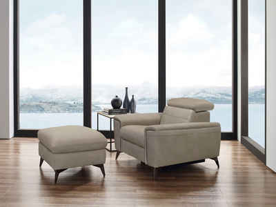 Places of Style Sessel »Theron«, elektrische Relaxfunktion, USB-Anschluss, manuelle Kopfteilverstellung