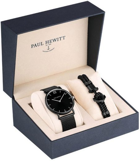 PAUL HEWITT Quarzuhr »Perfect Match, PH-PM-4-XXL«, (Set, 2-tlg., mit Phrep)