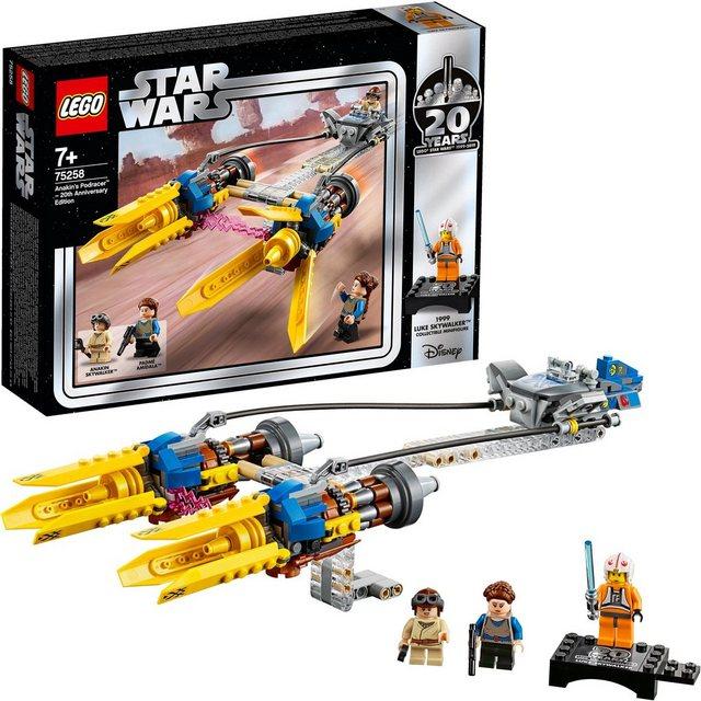 Image of 75258 Star Wars Anakin's Podracer – 20 Jahre LEGO Star Wars, Konstruktionsspielzeug