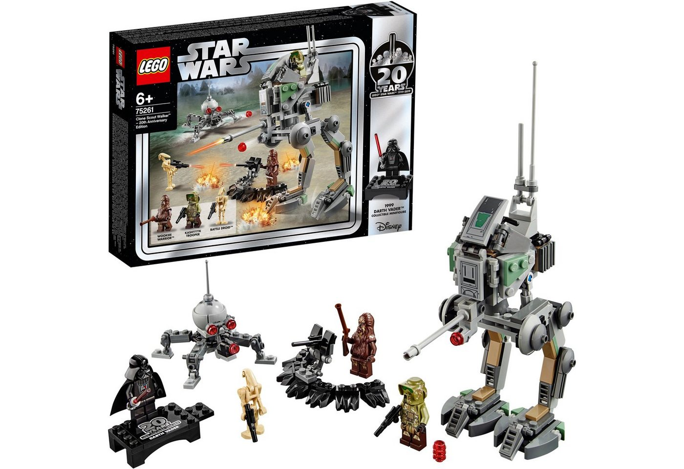 Image of LEGO 75261 Star Wars: Clone Scout Walker™ 20 Jahre LEGO Star Wars