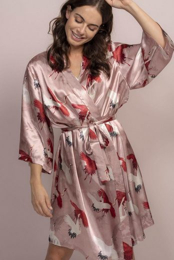 Kimono »Sarai Crane«, Essenza, mit Kranichen