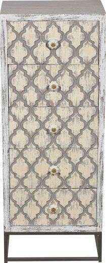 SIT Kommode »Mahal«, Mangoholz mit Metall, Breite 45 cm