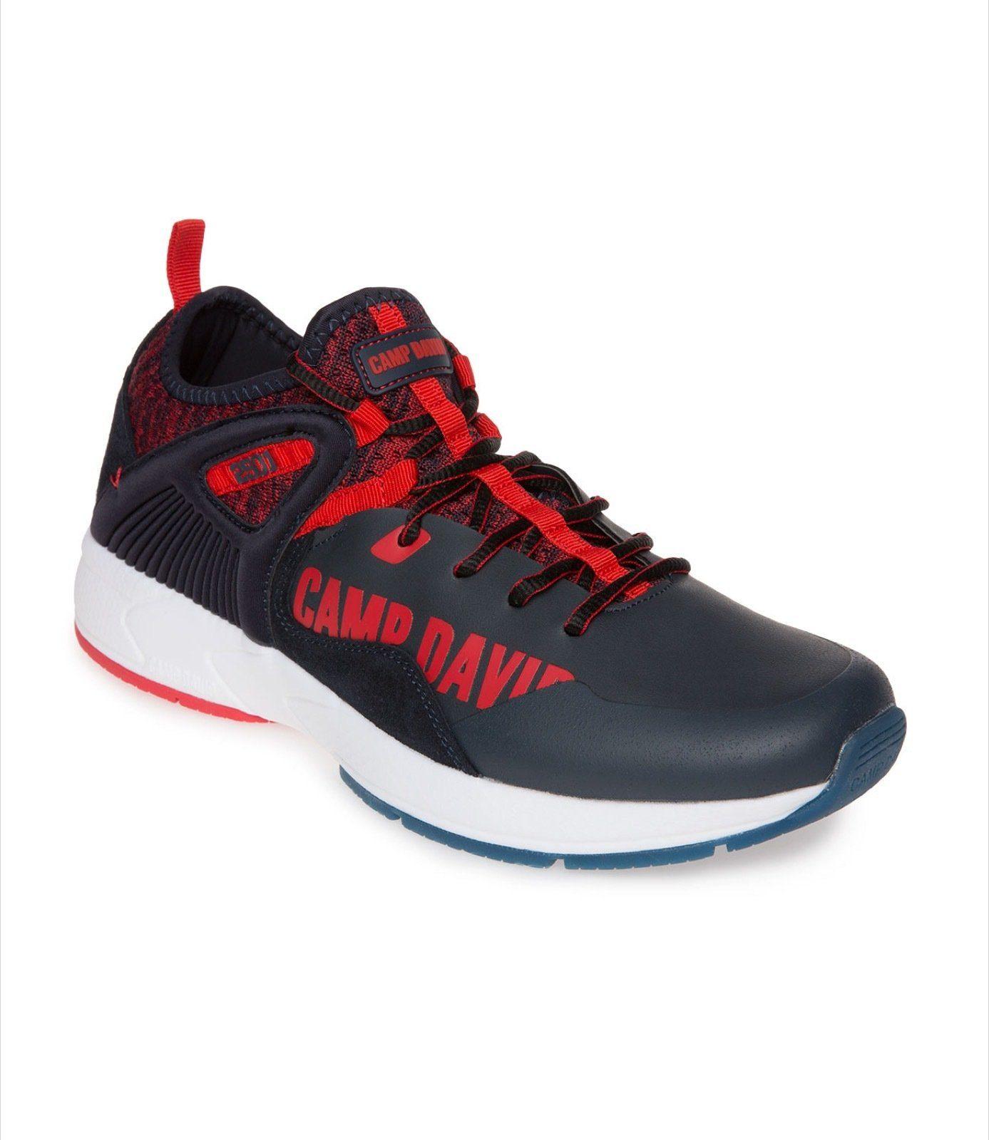 CAMP DAVID Sneaker mit Label-Print