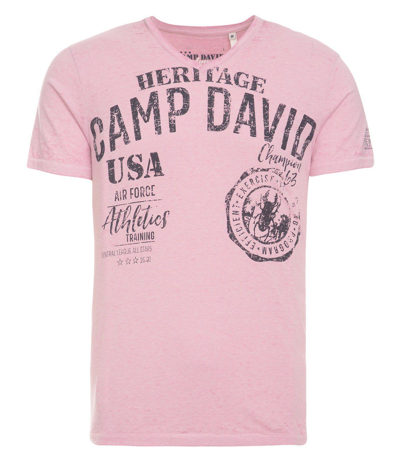 KaufenOtto Mit Shirt Camp David Applikationen T Online n0wPOk