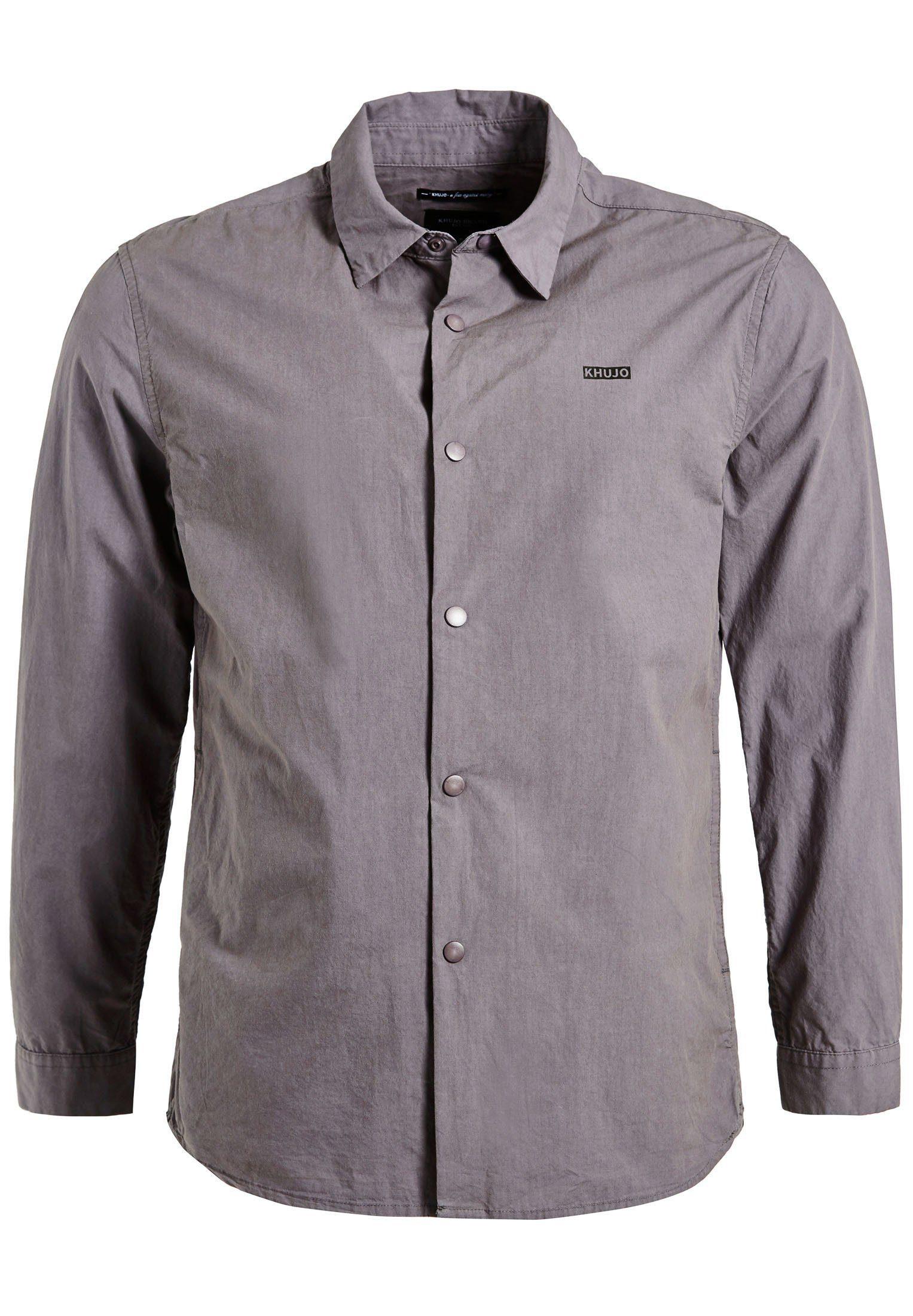 Mit Kaufen Seitlichen Khujo Online »racker« Langarmhemd Eingrifftaschen nwN8vm0O