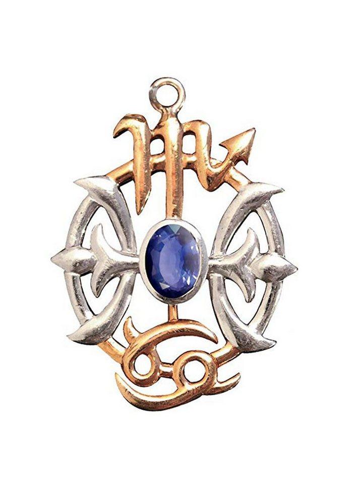 Adelia´s Amulett »Briar Edelsteine Talisman« Wikingerkompass mit Iolith - Für Reisen   Schmuck > Halsketten > Amulette   Adelia´s
