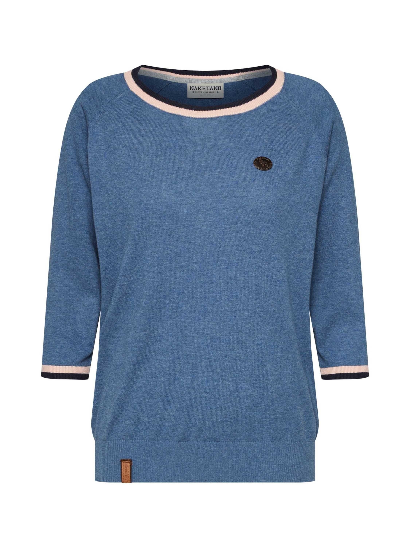 naketano 34 Arm Pullover »Gespreizt wie Gereizt«, Strickpullover mit Dreiviertelarm online kaufen | OTTO
