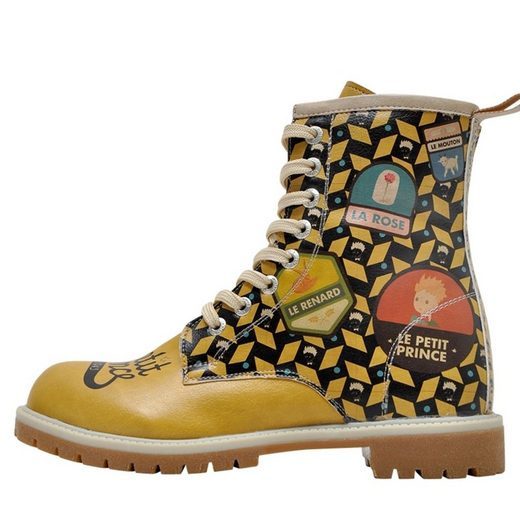 DOGO »The Yellow Side of Me Le Petit Prince 42« Stiefel Vegan