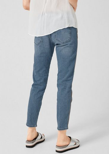 s.Oliver Shape Ankle: Jeans mit Stitchings