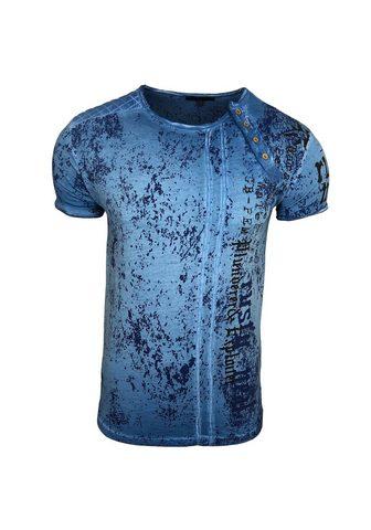 RUSTY NEAL Marškinėliai su coolem raštas