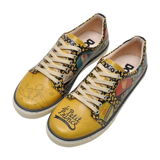 DOGO »The Yellow Side of Me Le Petit Prince« Sneaker Vegan