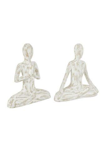HEINE HOME Статуэтка Yoga в 2 частей набор